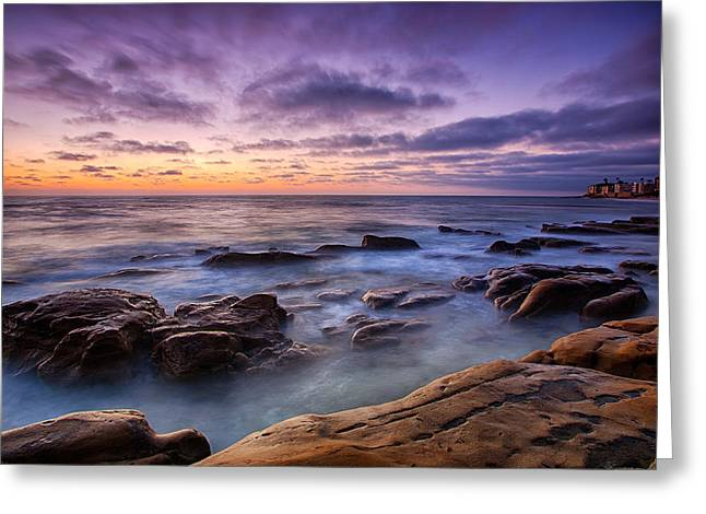 California Art Photographs Greeting Cards - Purple Majesty No Mountain Greeting Card by Peter Tellone
