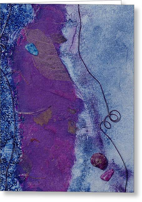 Carlynne Hershberger Greeting Cards - Purple Passion Greeting Card by Carlynne Hershberger