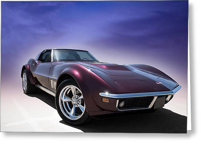 Chevy Greeting Cards - Purple Stinger Greeting Card by Douglas Pittman