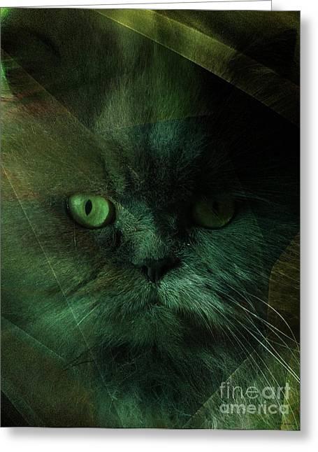Veterinary Digital Greeting Cards - Pushkah Greeting Card by Elizabeth McTaggart