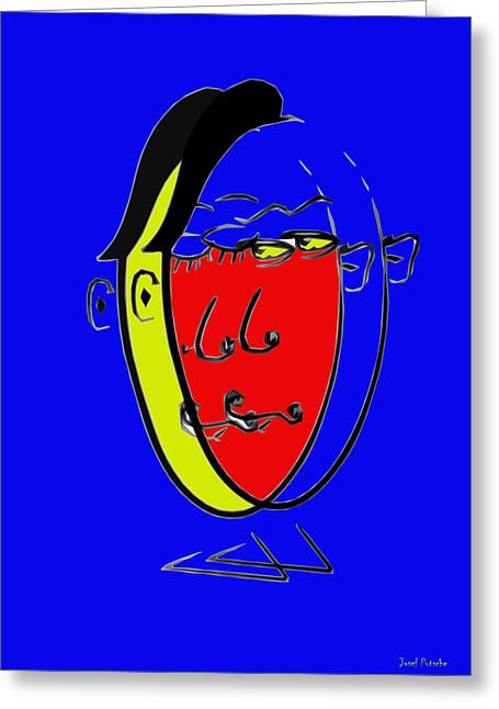 Pablo Picasso Greeting Cards - Putsches Passo Greeting Card by Sir Josef  Putsche