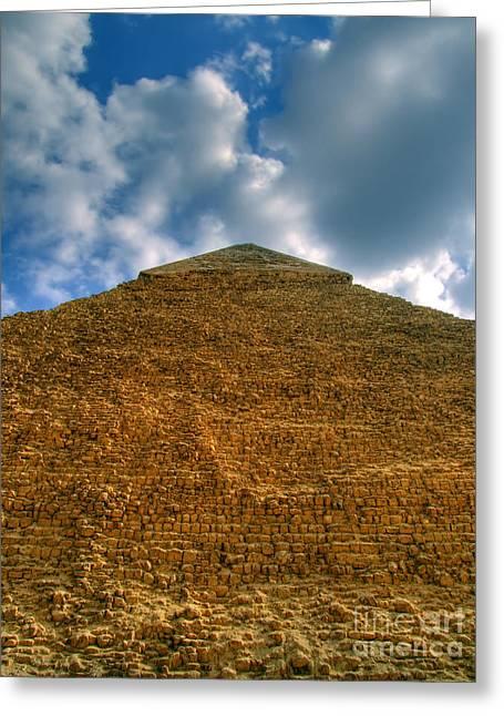 Pyramids Greeting Cards - Pyramid Of Giza 01 Greeting Card by Antony McAulay