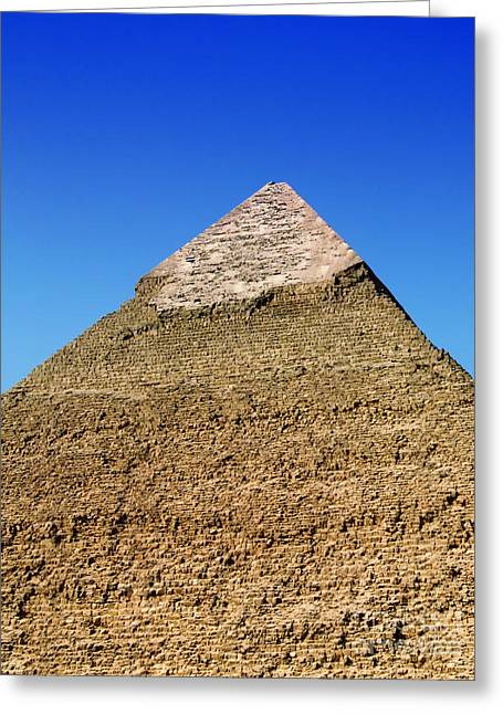 Pharaoh Greeting Cards - Pyramids Of Giza 15 Greeting Card by Antony McAulay