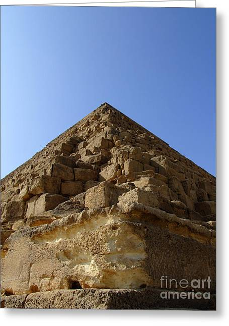 Pharaoh Greeting Cards - Pyramids Of Giza 20 Greeting Card by Antony McAulay