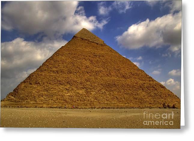 Pyramids Greeting Cards - Pyramids Of Giza 29 Greeting Card by Antony McAulay