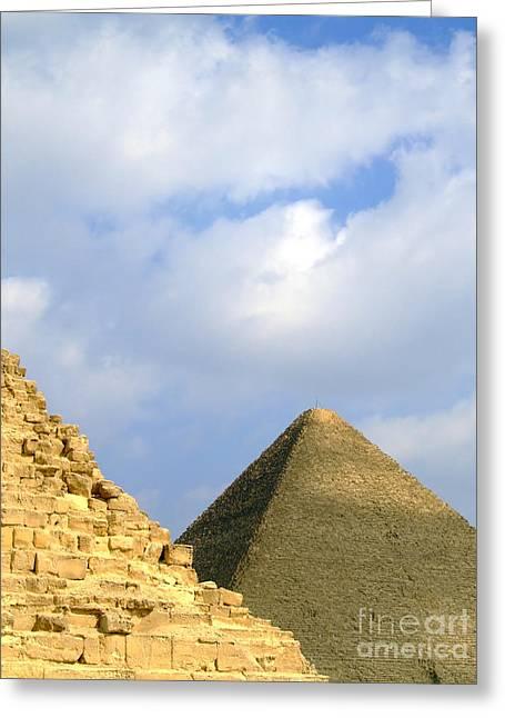 Pyramids Greeting Cards - Pyramids Of Giza 37 Greeting Card by Antony McAulay