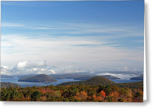 Western Massachusetts Greeting Cards - Quabbin Reservoir Greeting Card by Juergen Roth
