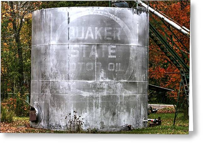 Quaker Greeting Cards - Quaker State Greeting Card by Michael Allen