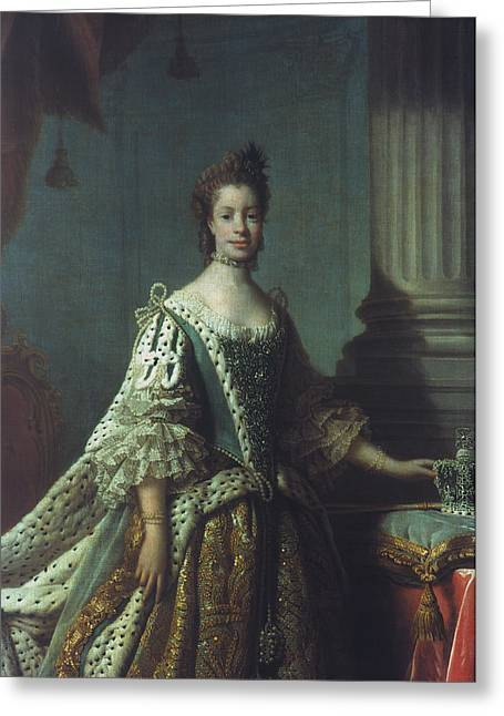 Queen Charlotte (1744-1818) Greeting Card by Granger