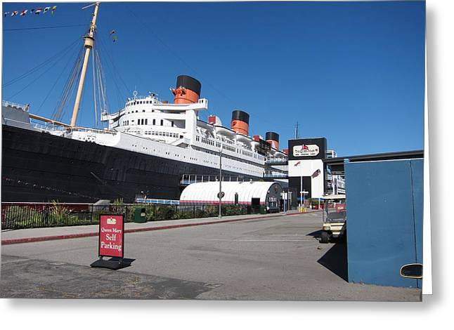 Mary Greeting Cards - Queen Mary - 12123 Greeting Card by DC Photographer