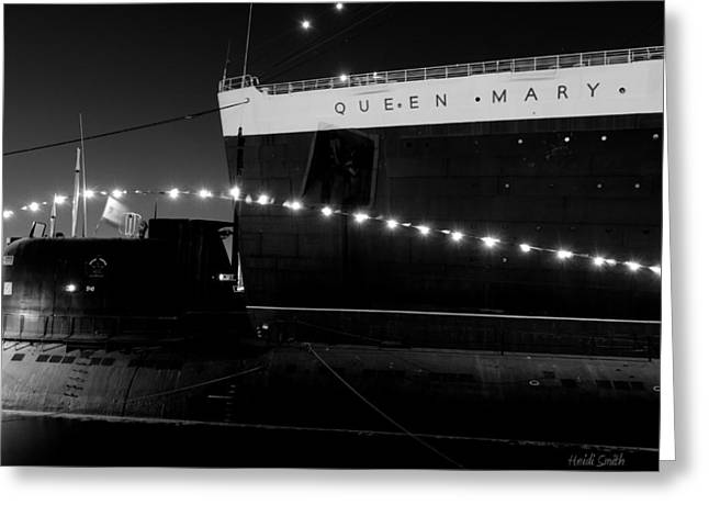 Queen Mary And Scorpion Greeting Card by Heidi Smith