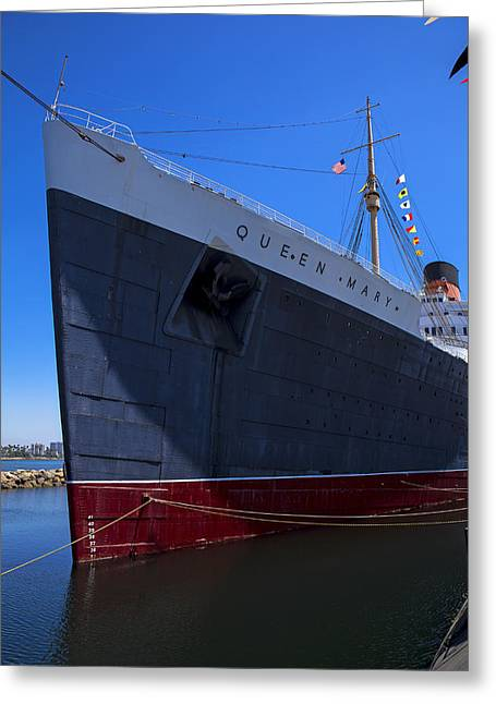 Queen Greeting Cards - Queen Mary Bow Greeting Card by Garry Gay