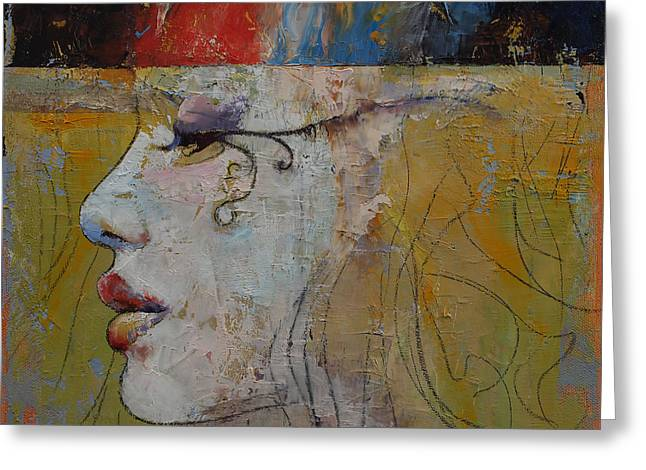 Nile Greeting Cards - Queen Greeting Card by Michael Creese