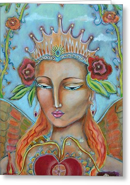 Langlois Greeting Cards - Queen of Flow Greeting Card by Kate Langlois