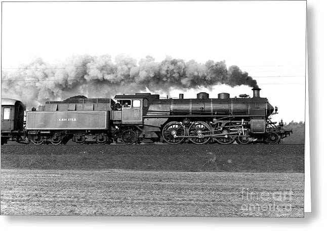 Dr. J Photographs Greeting Cards - Queen of Steam Greeting Card by Joachim Kraus