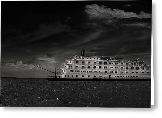 Mario Celzner Greeting Cards - Queen of the Mississippi  Greeting Card by Mario Celzner