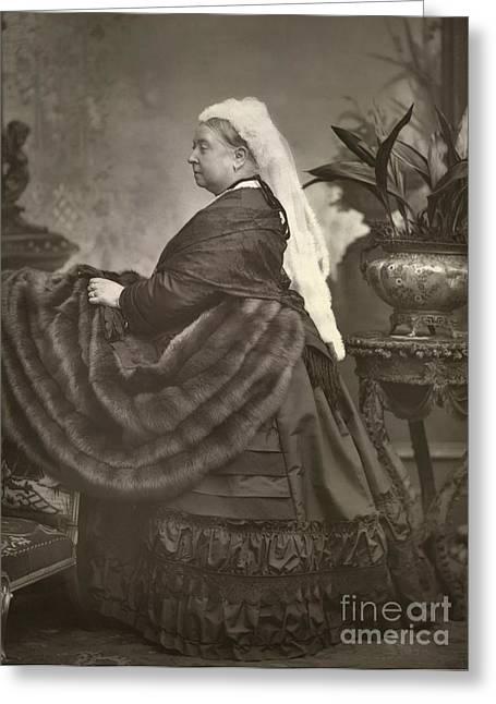 British Celebrities Greeting Cards - Queen Victoria, British Monarch Greeting Card by British Library