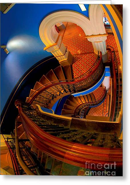 Bryan Freeman Greeting Cards - Queen Victoria Building - Sydney - Australia Greeting Card by Bryan Freeman