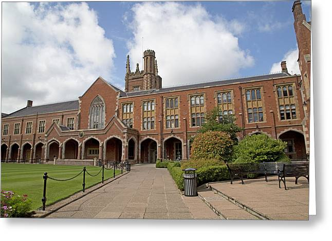 University School Greeting Cards - Queens University Belfast Ireland Greeting Card by Betsy C  Knapp