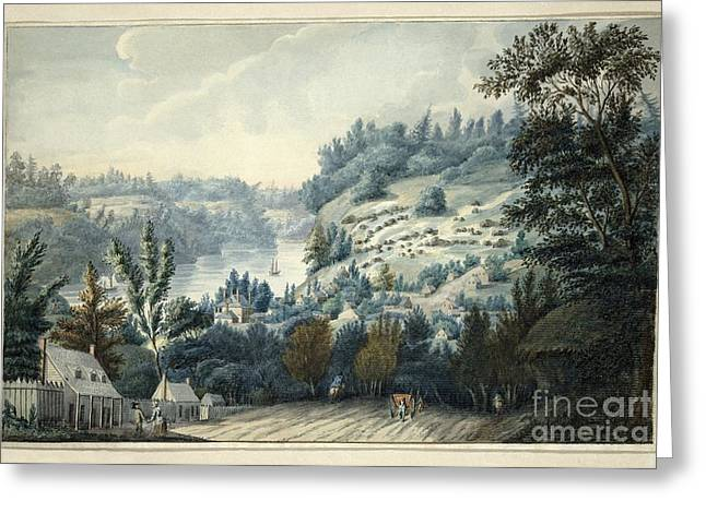 Bravery Greeting Cards - Queenstown Upper Canada on the Niagara  Greeting Card by Edward Walsh