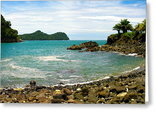 Michelle Greeting Cards - Quepos Costa Rica Greeting Card by Michelle Wiarda
