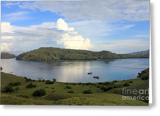 Ocean Photography Greeting Cards - Quiet bay Greeting Card by Sergey Lukashin