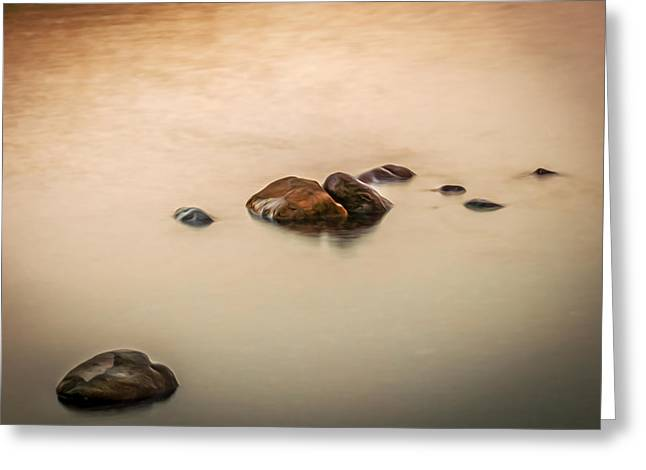 Clean Water Greeting Cards - Quiet Moment Lake McDonald Glacier National Park Greeting Card by Rich Franco