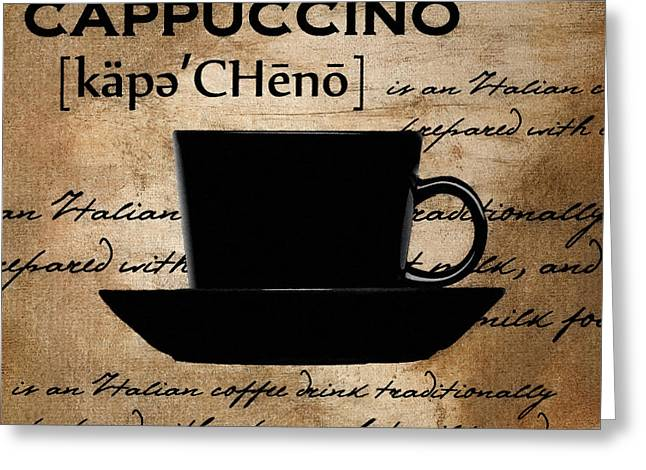 Espresso Art Greeting Cards - Quiet Morning Greeting Card by Lourry Legarde