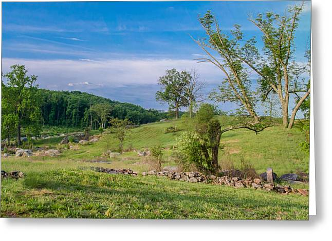 Devils Den Greeting Cards - Quiet Now   7D024XX Pan Greeting Card by Guy Whiteley