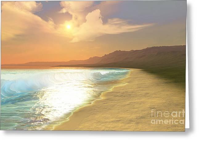 Saltwater Greeting Cards - Quiet Places Greeting Card by Corey Ford
