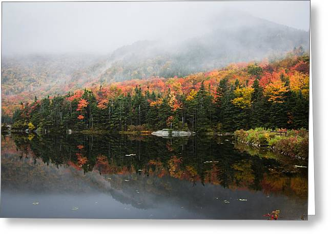 """autumn Foliage New England"" Greeting Cards - Quiet solitude  Greeting Card by Jeff Folger"