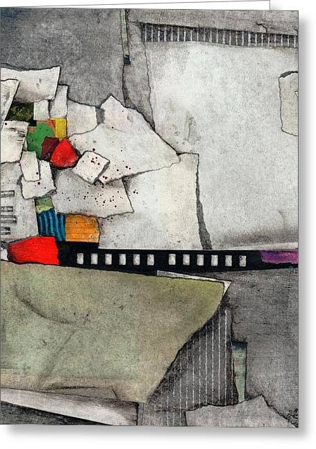 Layers Mixed Media Greeting Cards - Quiet Your Mind Greeting Card by Laura  Lein-Svencner