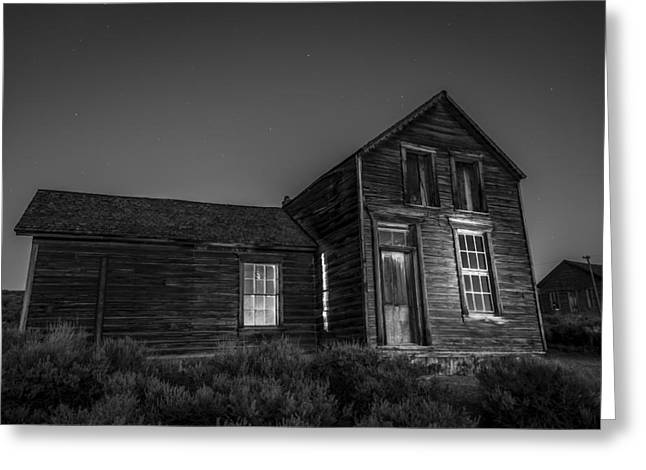 Abandoned Houses Greeting Cards - Quinville House Greeting Card by Cat Connor