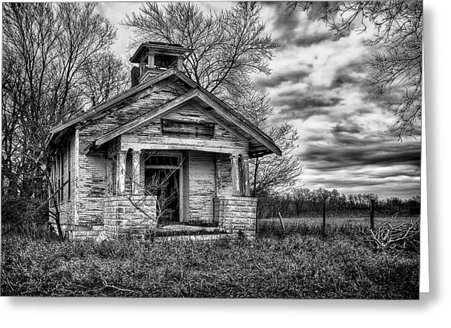 Decay Educational Greeting Cards - Quiver School Greeting Card by Jeff Burton