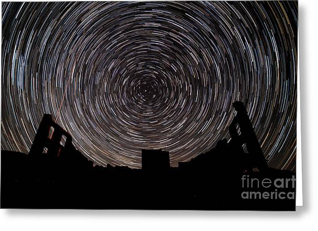 Star Valley Greeting Cards - R H Y O L I T E Greeting Card by Charles Dobbs