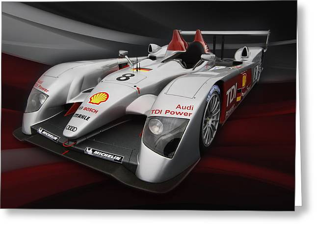 Leman Greeting Cards - R10 Le Mans 2 Greeting Card by Peter Chilelli