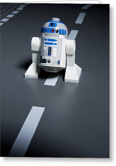 Star Wars Photographs Greeting Cards - R2-d2 Greeting Card by Samuel Whitton