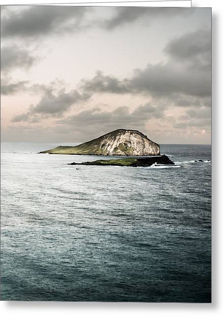 Ocean Prints Greeting Cards - Rabbit Island Greeting Card by Jason Bartimus