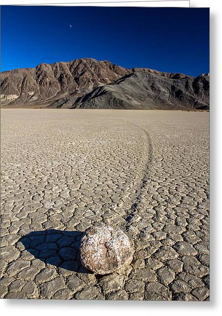 Most Photographs Greeting Cards - Racetrack in Death valley National park Greeting Card by Pierre Leclerc Photography