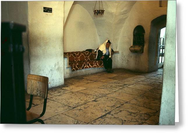 Tomb Rachel Greeting Cards - Rachels Tomb Bethlehem. Greeting Card by Daniel Blatt