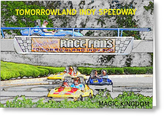 Racing Dreams Greeting Card by David Lee Thompson