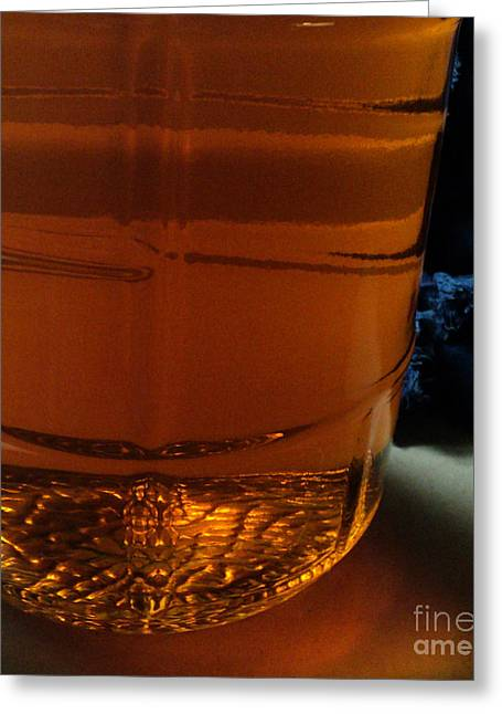 Carboy Greeting Cards - Racked Hops Mead 2013 Greeting Card by Padre Art
