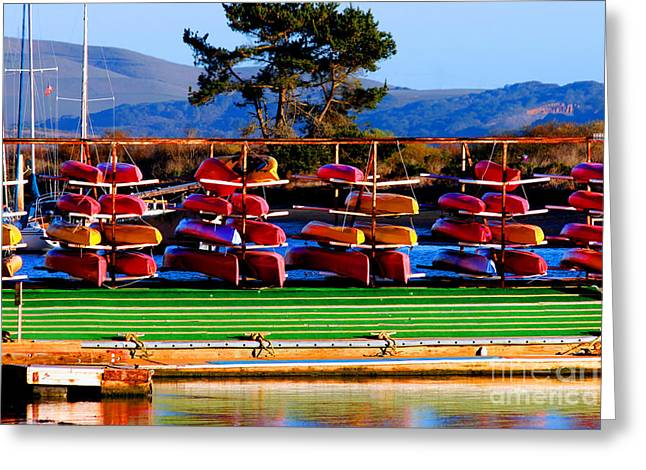 Tap On Photo Greeting Cards - Racked - Morro Bay California  Greeting Card by Tap  On Photo