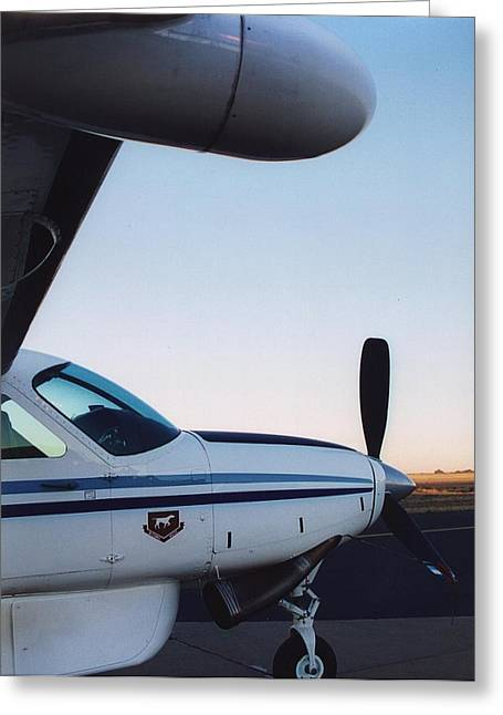Cessna Greeting Cards - Radar Me Greeting Card by Paul Job