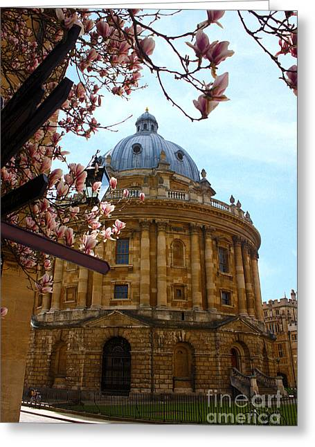 Terri Waters Greeting Cards - Radcliffe Camera Bodleian Library Oxford  Greeting Card by Terri  Waters