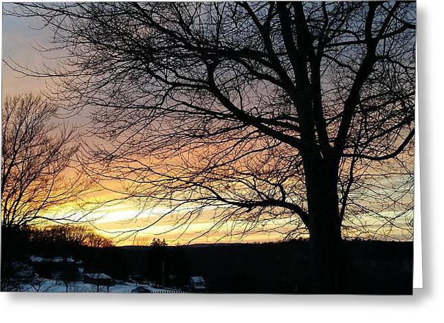 Senic View Greeting Cards - Radiant Greeting Card by Bradford j Cole