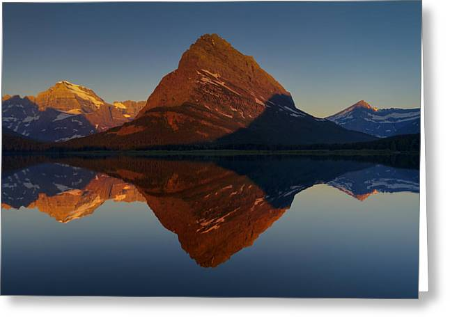Gould Greeting Cards - Radiant Grinnell Point Greeting Card by Mark Kiver