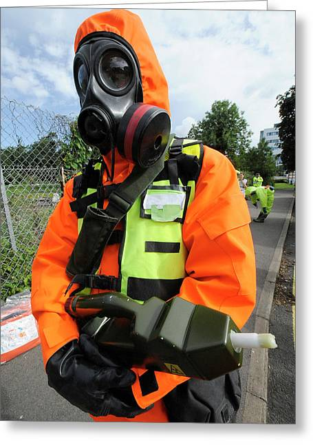 Radiation Emergency Response Worker Greeting Card by Public Health England