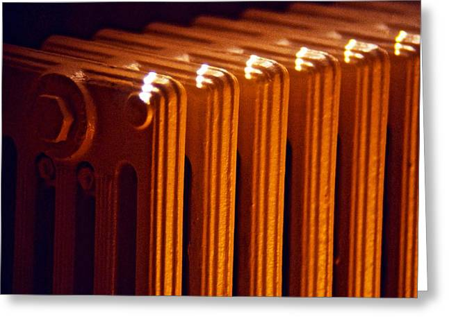 Temperature Greeting Cards - Radiator Greeting Card by Stuart Litoff