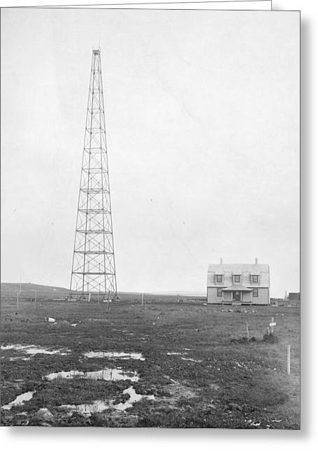 Nome Greeting Cards - Radio antenna, 1916 Greeting Card by Science Photo Library